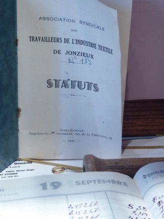 musee de la passementerie - statuts association syndicale