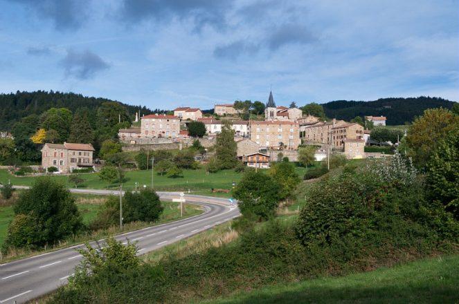 La Versanne, Le Bourg- Frange Est