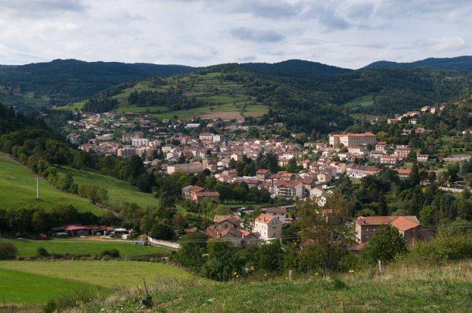 Bourg Argental- Le Bourg- Frange Nord- Vallee de la Deome