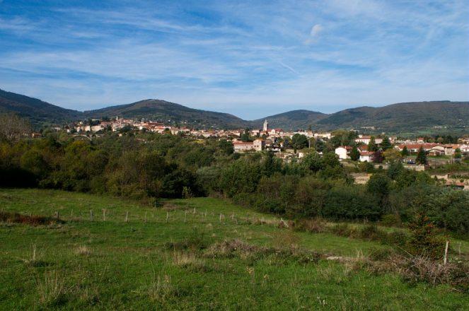 Pelussin, Le Bourg- Frange Sud