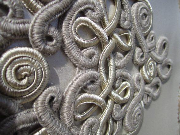 productions effet passementerie - la malle textile du Parc