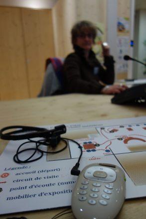equipement accessibilite - audiodescription pour handicap visuel