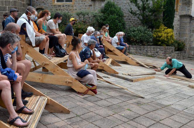 Cie La Méandre - Quelques p'Arts à St-Julien-Molin-Molette - août 2020 - Rachel Paty